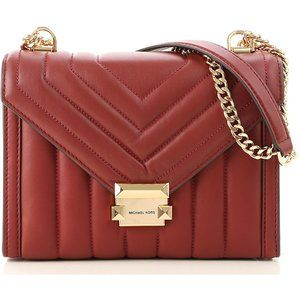 Michael Kors Whitney Quilted Leather Shoulder Bag